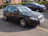 Audi A4 Avant 2.0 TFSI Quattro   2006 (06 Plate)   Black   136k   Full leather   £3,000