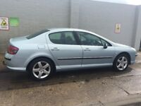2004 (54) reg Peugeot 407 Hdi Diesel with Tow Bar Clean in and out and drive well