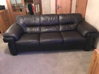 Land of Leather 3 seater and 2 seater sofa
