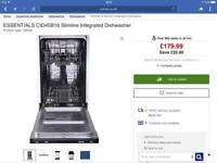 For sale slimline dishwasher