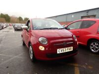 FIAT 500 1.2 Colour Therapy 3dr Dualogic Auto (red) 2013