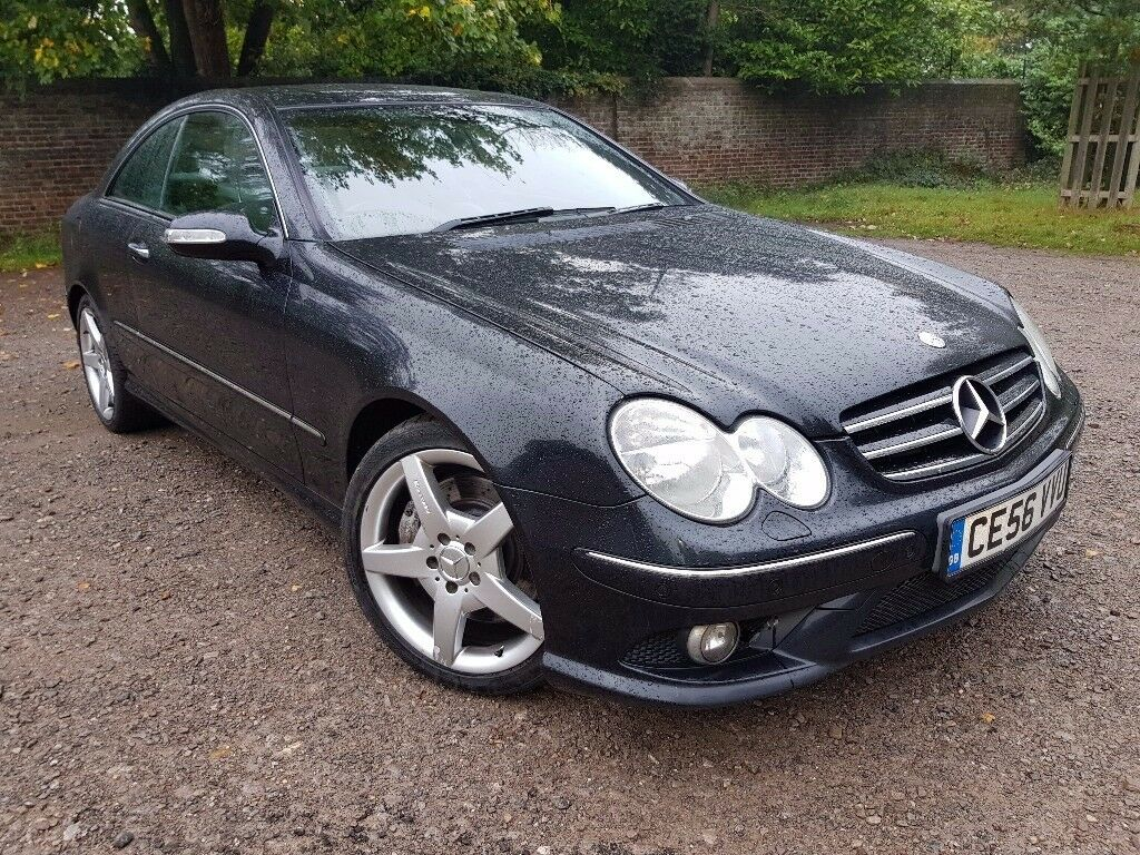 MERCEDES CLK 350 SPORT AUTO, 1 OWNER, FULL MERCEDES SERVICE HISTORY, SAT NAV, ELECTRIC LEATHER SEATS
