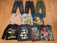 10 X BOYS 5-6 YEARS JOBLOT INCLUDES LEGO , BATMAN , TRANSFORMERS , MICKEYMOUSE ,