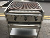 GAS ARCHWAY BBQ KEBAB GRILL CATERING COMMERCIAL KITCHEN FAST FOOD