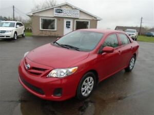 2012 Toyota Corolla 5-Speed Manual Air Cruise PW PL