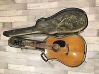 1969 Jedson 9000 Acoustic Guitar & Original Hard Case - REDUCED!