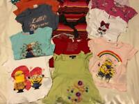 Bundle of girls clothes 2-3 yrs