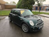 "2002 Mini Cooper ""S"" panoramic roof 12 mths MOT.3 mths. warranty"