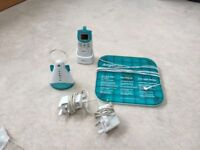 Excellent condition baby monitor and movement sensor