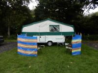 Folding Camper, Trailer Tent 2006 Pennine / Conway Continental