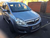 Vauxhall Zafira Exclusive 7 Seater (Diesel Automatic) 1.9 CDTI For Sale