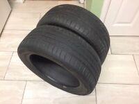 2 Part Worn Tyres 195/50r15