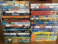 DVD bundle. Collection of kids films. 37 dvds good condition and working.
