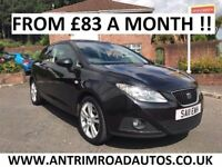 2011 SEAT IBIZA 1.4 CHILL ** FINANCE AVAILABLE ** ALL CARDS ACCEPTED