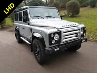 2012 LAND ROVER DEFENDER LHD 110 TDCI COUNTY STATION WAGON