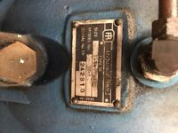 Ingersoll Rand model 20-2 receiver mounted air compressor