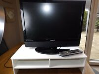 Beko TV with remote ,power cord and (white) stand