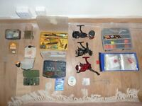 FISHING TACKLE INCLUDING BOXES