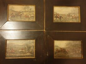 Thomas Henry Alken set of four 'The Hunt' pictures