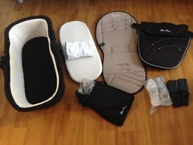Carrycot and pushchair