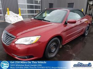 2012 Chrysler 200 TOURING CONVERTIBLE! HEATED SEATS! REMOTE STAR