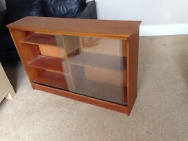 Wooden cabinet/ display case