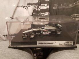 David Coulthard - McLaren MP4-15 F1 Car by Hot Wheels, Rare Diecast Model