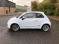 2008 FIAT 500 LOUNGE 1.4 STUNNING CAR MUST SEE 57,000 MILES THREE DOOR HATCHBACK £4750 OLDMELDRUM