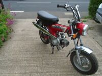 Honda Dax ST50-K, 1993, 49 (cc)