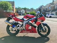 2001 Yamaha R6 - extremely low mileage