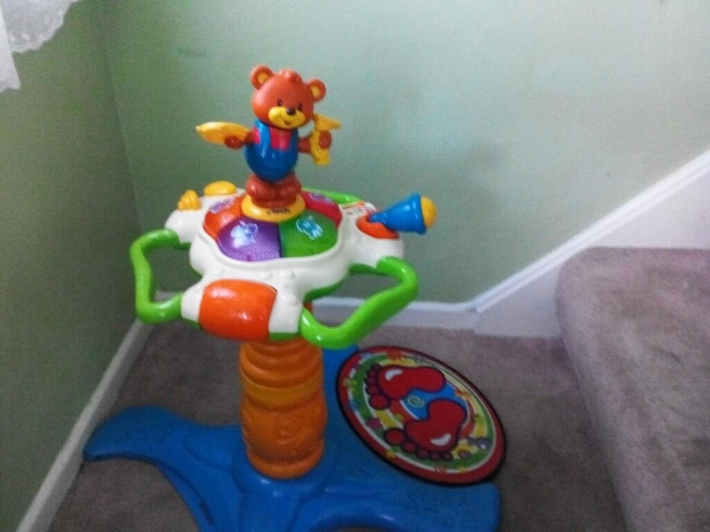 Vtech sit to stand musical tower