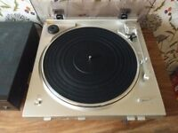 Denon Record Player, DP-200USB, never been used, USB recording, Silver