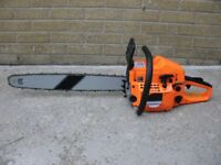 """Brand New 62cc chainsaws with 20"""" inch or 22'' bar. chain saw Plus safety wear"""