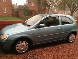 Vauxhall Corsa 04- Silver Green