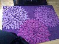 Floral Rug 170 x 120