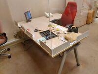 Usk-U02 Crimson office/computer swivel desk chairs £99