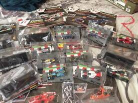 collection of F1 cars 18 in total great collection for someone