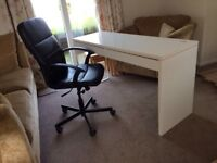 Workstation Desk with Swivel Chair