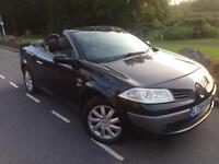 2006 56 Renault Megane 1.5 dci Dynamique convertible # electric hard top # panoramic roof #cheap ins