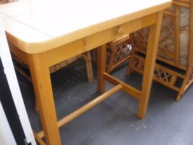 HIGH KITCHEN TABLE - NEW LOWER PRICE (WAS £45)