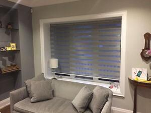 WINDOWS COVERING! ZEBRA SHADES, ROLLER SHADES, ROMAN SHADES, VERTICAL BLINDS, HORIZONTAL WOOD BLINDS! BEST PRICE SHADES!