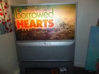 Samsung Rear Projector TV - the picture is good - the sound is fantastic! FREE