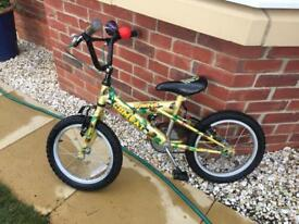 "Boys Army 16"" bike"