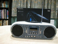 Morphy Richards DAB/CD Boombox in original packaging