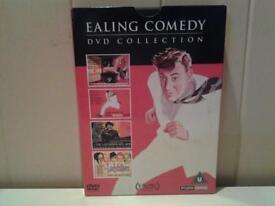 """IMMACULATE """"EALING COMEDY DVD COLLECTION"""" ON 4 DVD'S"""