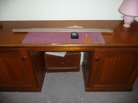 Sewing Machine Table or Hobby Table/Cabinet