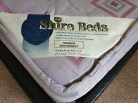 Shire beds Windsor Orthopaedic King size mattress 150 x 200 x 22 cm