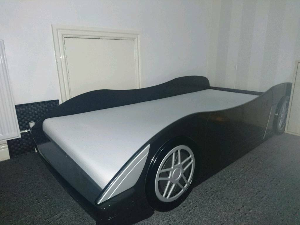 Car bed including matress
