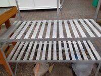 Potting Table - Aluminium - Good Condition