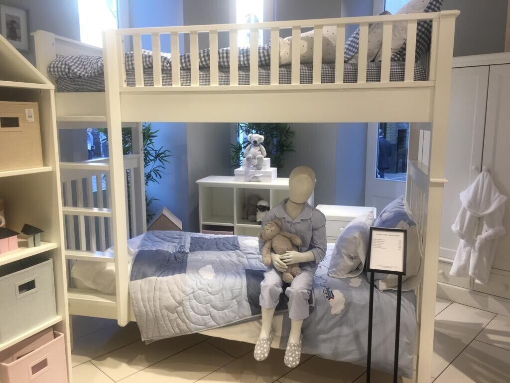 The White Company, Classic White Bunk Bend + Truckle Bed (3rd Bed) | in  South Kensington, London | Gumtree